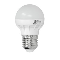 LED Birne E27 3W Kaltweiß