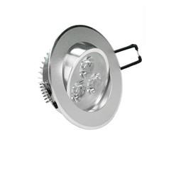 LED-Einbaustrahler, Kaltweiß, 3W Rund