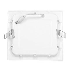 LED-Panel Einbaustrahler 3W, Kaltweiß, Eckig