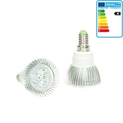 LED Spot E14 3 Watt Ausf. COB warmweiß