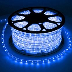 LED-Lichtschlauch 30 m, Blau - 36 LED pro Meter