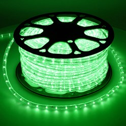 LED-Lichtschlauch 30m, grün - 36 LED pro Meter