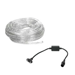 LED-Lichtschlauch 20 m, Gelb - 36 LED pro Meter