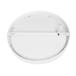 ECD Germany LED Plafonnier 18W AC 220-240 1225 Lumens 220 mm angle de 160 ° IP53 blanc froid