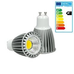 LED-Spot COB GU10, Neutralweiß, 9W