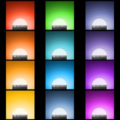LED Birne RGB E14 3 Watt