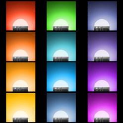 LED-Birne E27, RGB, 9W inkl. Fernbedienung