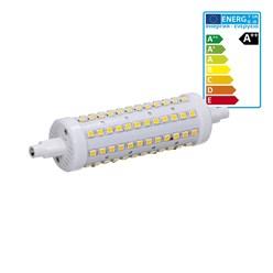 LED Stablampe R7s - 118 mm 12 Watt rund kaltweiß