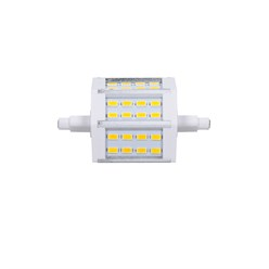 LED Stablampe R7s - 78 mm 5 Watt eckig warmweiß dimmbar