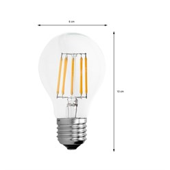 4 x LED Lampe Birne Filament E27 10W Warmweiß