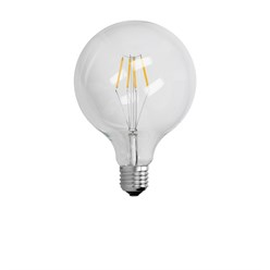 10 x LED Lampe Birne groß Filament E27 4W 125 mm Warmweiß