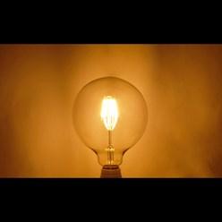 LED-Birne E27, Warmweiß, 6W