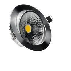 LED-Einbaustrahler COB, Kaltweiß, 9W