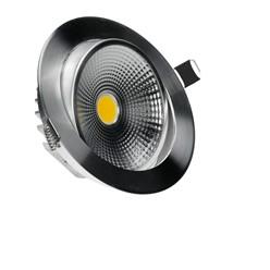 LED-Einbaustrahler COB, Warmweiß, 9W