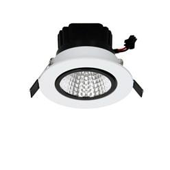 LED-Einbaustrahler COB Aluminium Weiß 3W NW