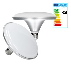 LED Tellerlampe E27 24 Watt warmweiß