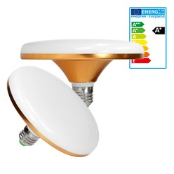 LED Tellerlampe E27 24 Watt warmweiß
