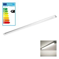 LED-Deckenleuchte 120 cm, 36W, Warmweiß