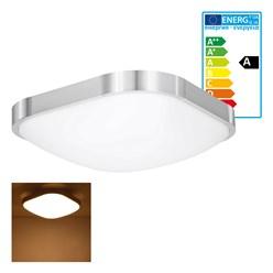LED Wand- und Deckenleuchte 30 x 30 cm 12 Watt warmweiß
