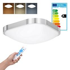 LED Wand- und Deckenleuchte 30 x 30 cm 12 Watt kalt- bis warmweiß dimmbar