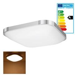 LED Wand- und Deckenleuchte 38 x 38 cm 18 Watt warmweiß