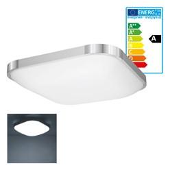 LED Wand- und Deckenleuchte 38 x 38 cm 18 Watt kaltweiß