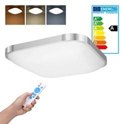LED Wand- und Deckenleuchte 38 x 38 cm 18 Watt kalt- bis warmweiß dimmbar