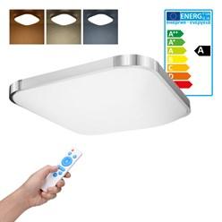 LED Wand- und Deckenleuchte 45 x 45 cm 36 Watt kalt- bis warmweiß dimmbar