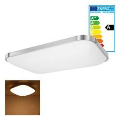 LED Wand- und Deckenleuchte 43 x 65 cm 48 Watt warmweiß