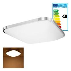 LED Wand- und Deckenleuchte 65 x 65 cm 64 Watt warmweiß