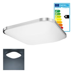 LED Wand- und Deckenleuchte 65 x 65 cm 64 Watt kaltweiß