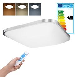 LED Wand- und Deckenleuchte 65 x 65 cm 64 Watt kalt- bis warmweiß dimmbar