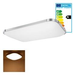 LED Wand- und Deckenleuchte 65 x 92 cm 96 Watt warmweiß
