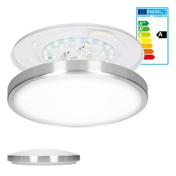 LED-Deckenlampe, Neutralweiß, 12W rund