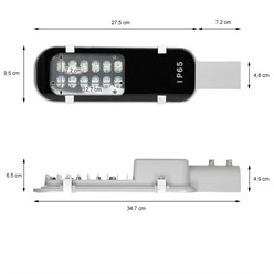 LED Hofbeleuchtung 12W NW 347 x 95 x 65mm