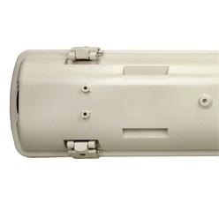 LED-Feuchtraumleuchte 60 cm, wasserdicht, geeignet für T8