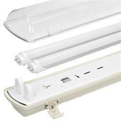 LED Lampenhalterung IP65 Leuchtstoffröhre 2 x 150 cm
