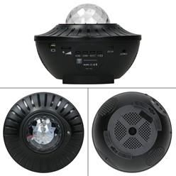 LED Projektor Sternenhimmel Lampe mit Fernbedienung Bluetooth RGBW