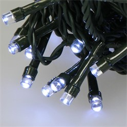 LED-Lichterkette 48 m, Weiß, 480 LEDs