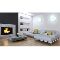LED Wand- und Deckenleuchte 30 x 30 cm 12 Watt kaltweiß