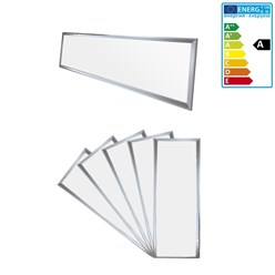 5 x LED Panel 120 x 30 cm 42W Neutralweiß 4000K