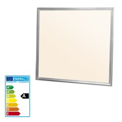 LED-Panel 60x60 cm, 36W, warmweiß, inkl. Montagezubehör