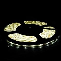 LED-Streifen 3 m, Warmweiß, wasserfest - 60 LED pro Meter inkl. Netzteil