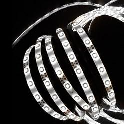 LED-Streifen 1 m, Kaltweiß, wassefest - 60 LED pro Meter inkl. Netzteil