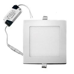 LED-Panel Einbaustrahler 12W, Kaltweiß, Eckig