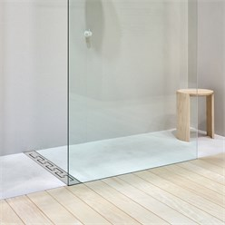 ML-Design Duschrinne geschlitzt, 80cm, silber, aus Edelstahl