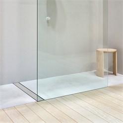 ML-Design Duschrinne geschlossen, 70cm, silber, aus Edelstahl
