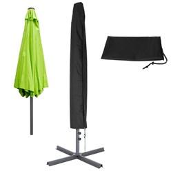 ML-Design Abdeckung für Sonnenschirm schwarz, 175x38 cm, aus PU