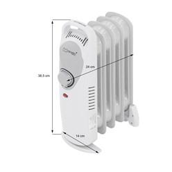 ML-Design Ölradiator 450W, weiß, aus Metall und Kunststoff