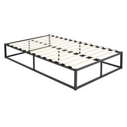 ML-Design Metallbett schwarz, 200x120 cm, aus Stahlrahmen